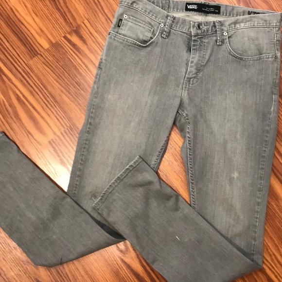 5bcf63320d Vans 32x32 Gray v76 Skinny Jeans